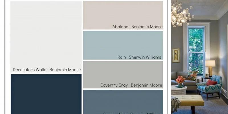 Remodelaholic Transitional Paint Color Palette