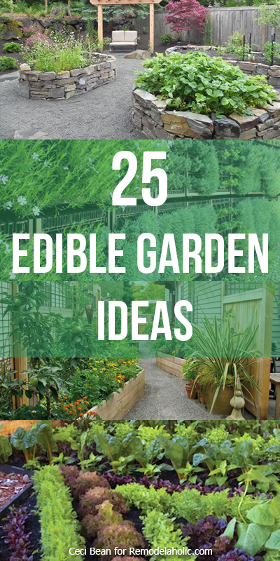 Remodelaholic | 25 Edible Garden Ideas