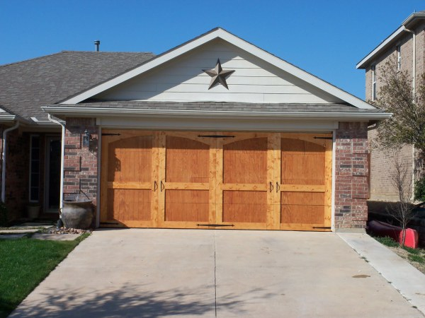 carriage door tutorial, update your ugly garage doors