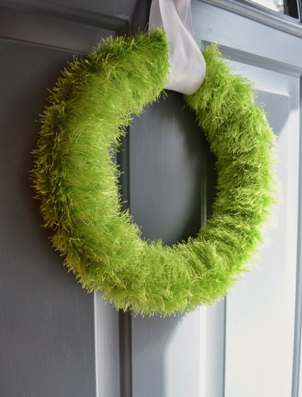 Easy DIY Wall Decor Ideas Diy Grass Wreath