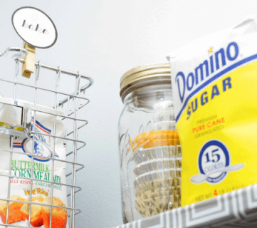 Budget Pantry Makeover