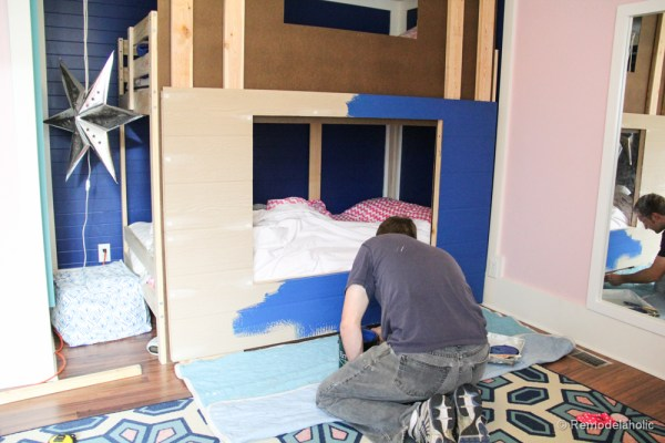 how to build a Bunk bed playhouse tutorial  (12 of 40)