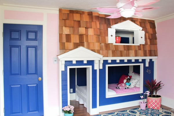 how to build a Bunk bed playhouse tutorial  (31 of 40)