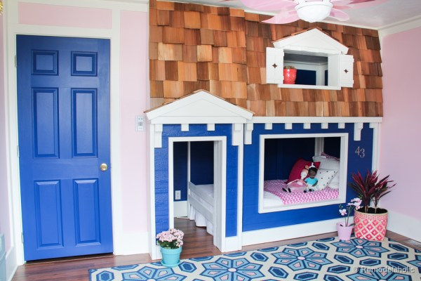how to build a Bunk bed playhouse tutorial (33 of 40)