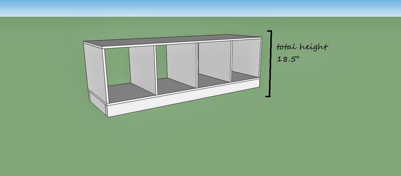 Remodelaholic | DIY Entryway Mudroom with Cubbies for Under $150