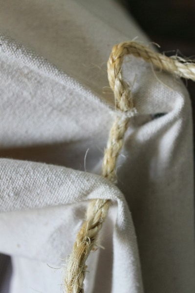 rope ties on kids camping tent bed canopy, The Ragged Wren on Remodelaholic