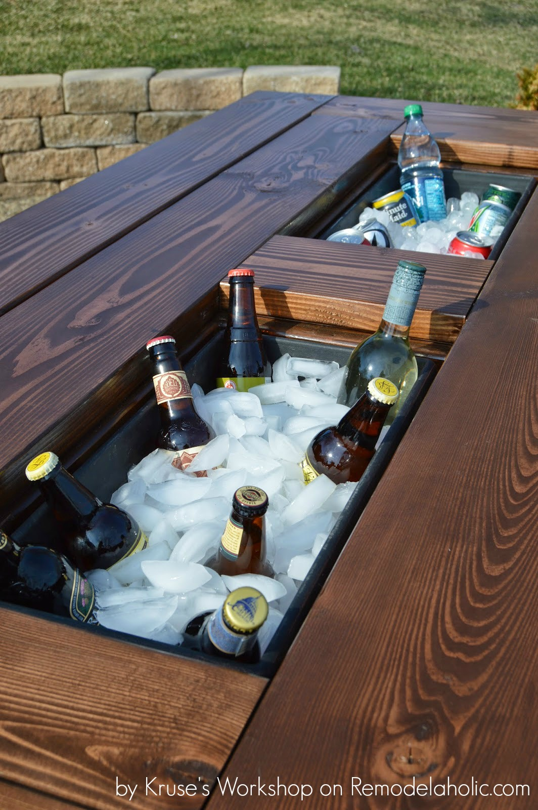 build table picture unforgettable to wood ideas how composite height out patio a pallets of with bar building built
