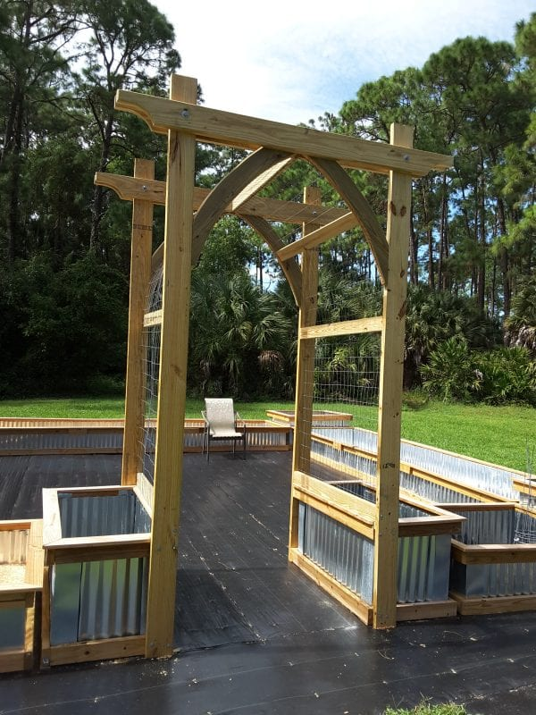 Gothic Arch Garden Arbor, Reader Update, Tutorial From @Remodelaholic (2)