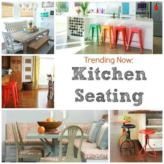 Kitchen Seating Collage