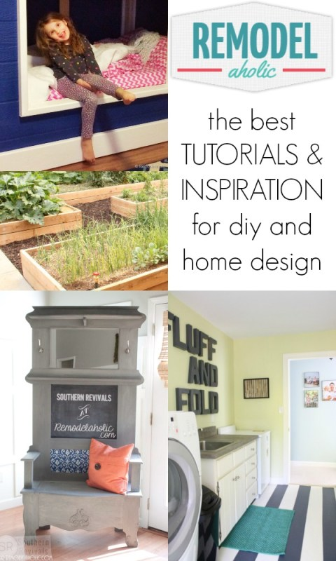 Tutorials and Inspiration from Remodelaholic.com