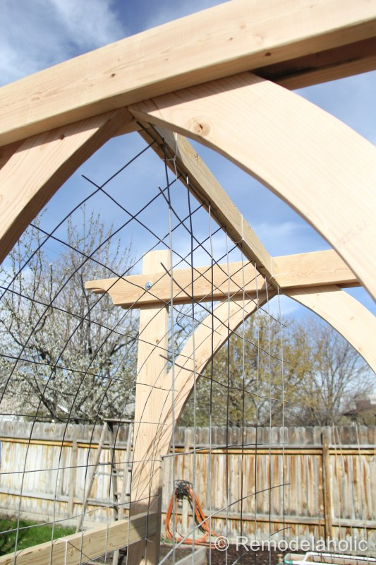 Vegetable Garden Arbor DIY Plans-46
