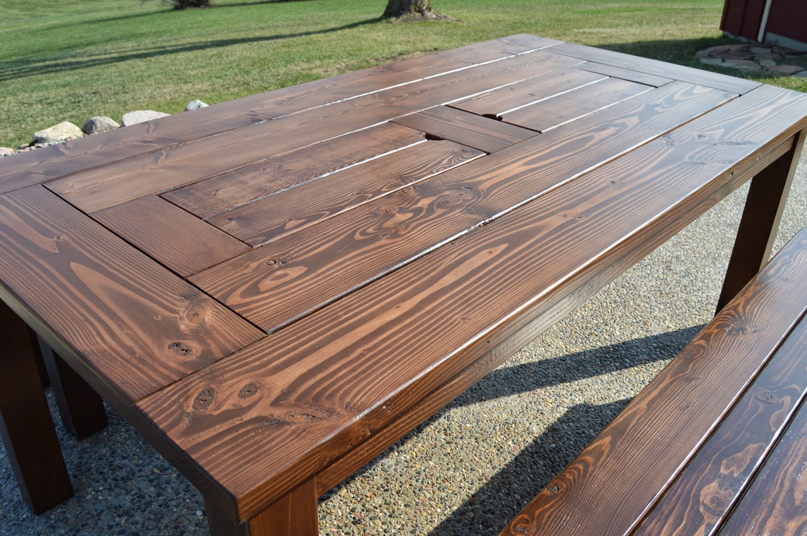 build a patio cooler table with