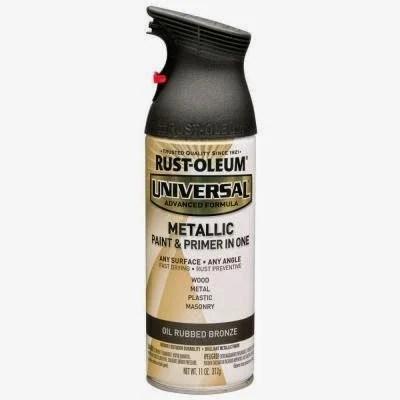 rustoleum metallic spray paint for industrial shelf, Sawdust 2 Stitches on Remodelaholic