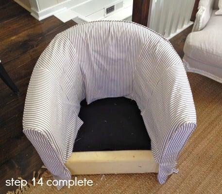 tub chair step 14-1
