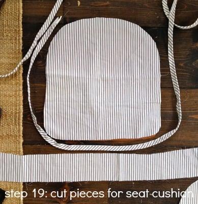tub chair step 19