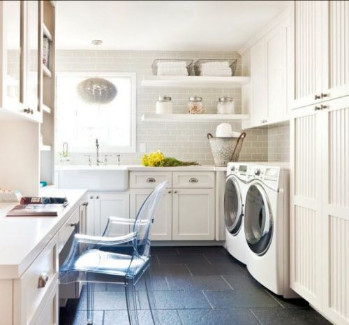 60 Beautiful Small Laundry Room Designs: 100+ Inspiring Laundry Room Ideas