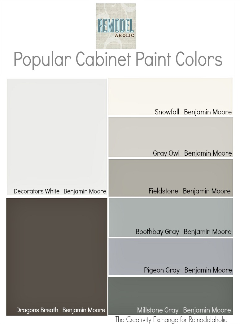 Strange Remodelaholic Trends In Cabinet Paint Colors Download Free Architecture Designs Remcamadebymaigaardcom