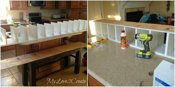 adding side board shelves to master closet, My Love 2 Create on Remodelaholic