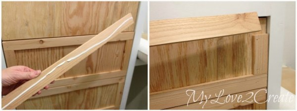 drawer trim in master closet tower, My Love 2 Create on Remodelaholic