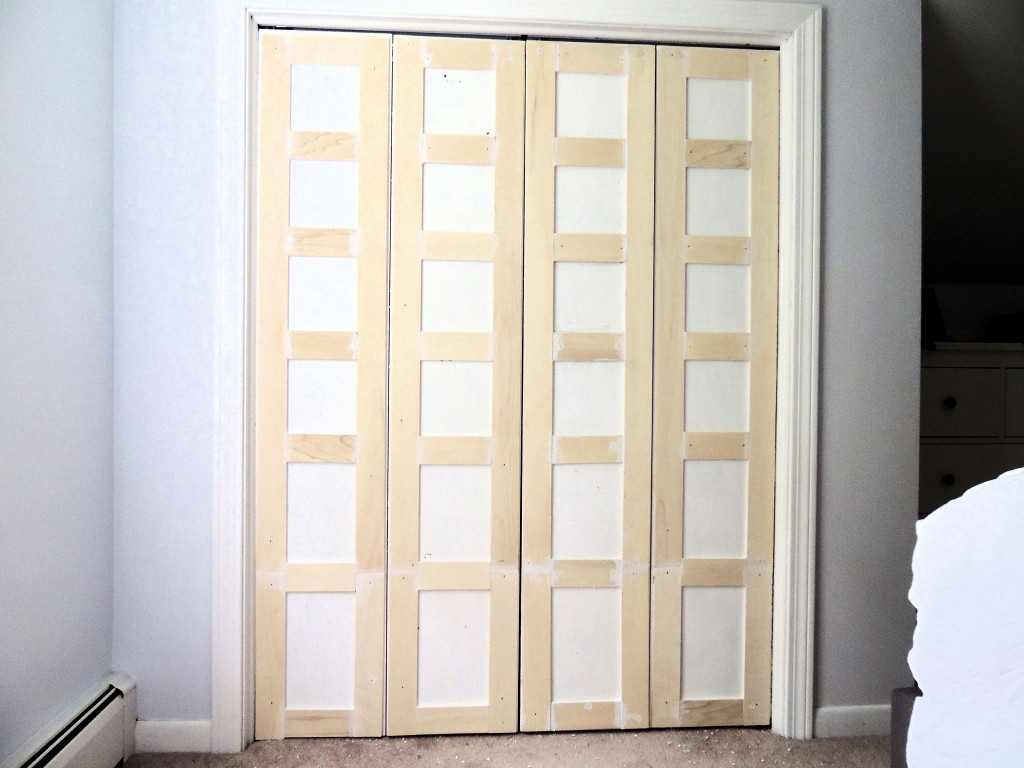 Perfect How To Update Flat Closet Doors To Paneled French Doors 3, Wife In Progress  On