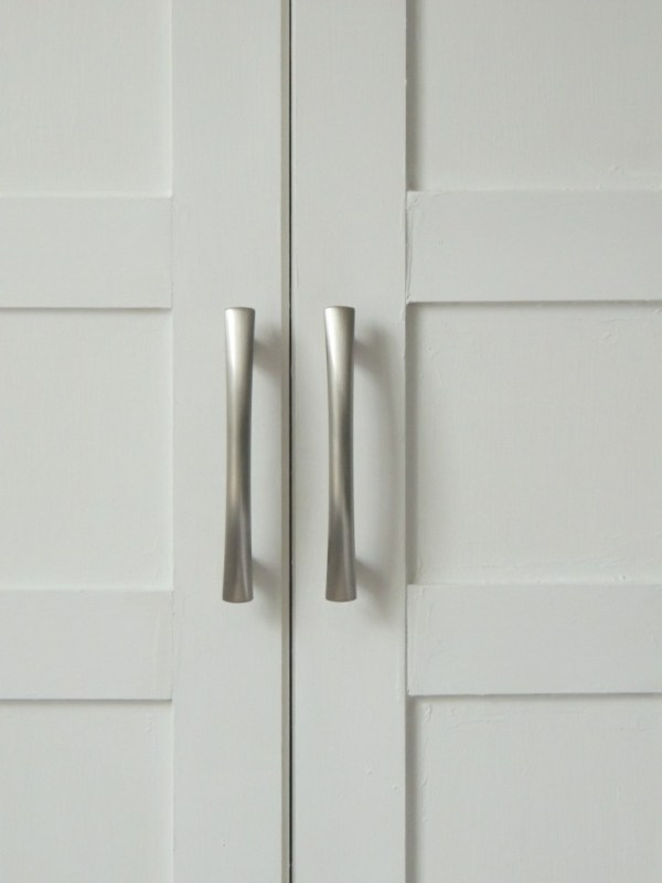 how to update flat closet doors to paneled french doors 6, Wife in Progress on Remodelaholic