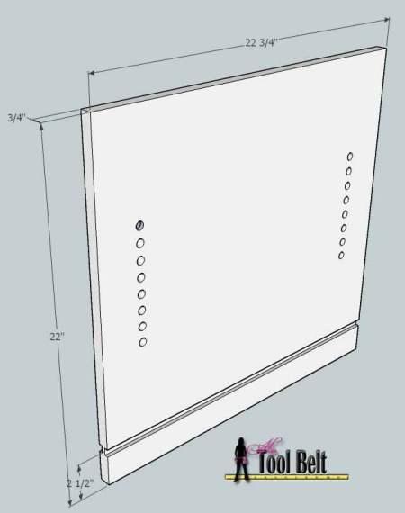 media center building plans - tv console 6, Her Tool Belt on Remodelaholic