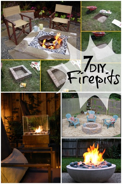 Remodelaholic | DIY Retaining Wall Block Fire Pit