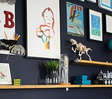 10 Wall Decor Ideas + Link Party