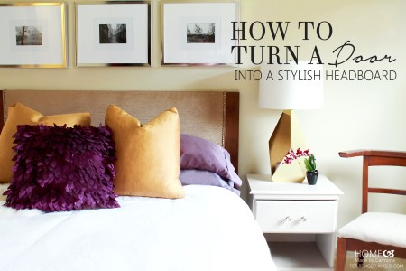 Headboard Tutorial- Remodelaholic