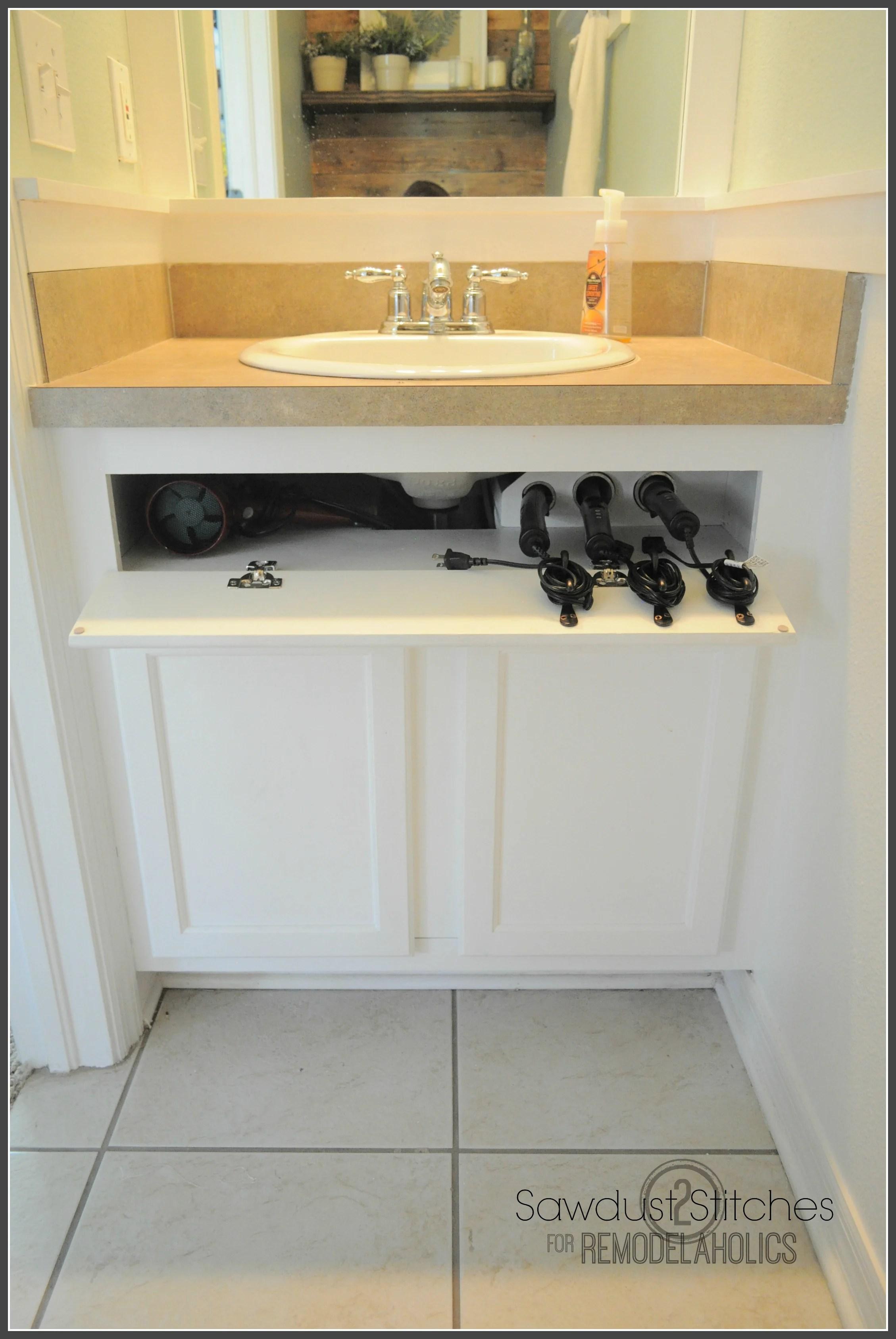 Bathroom Under Cabinet Storage Drawers Under bathroom sink ...