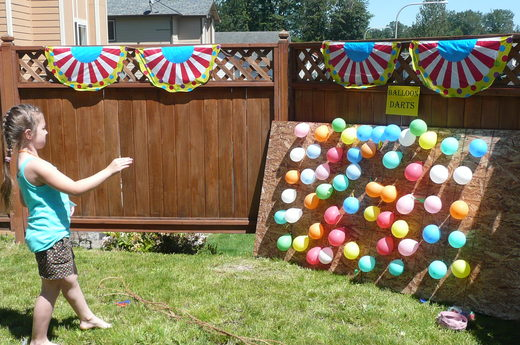 Charming 4. Balloon Darts | Catch My Party · Homemade Twister Game