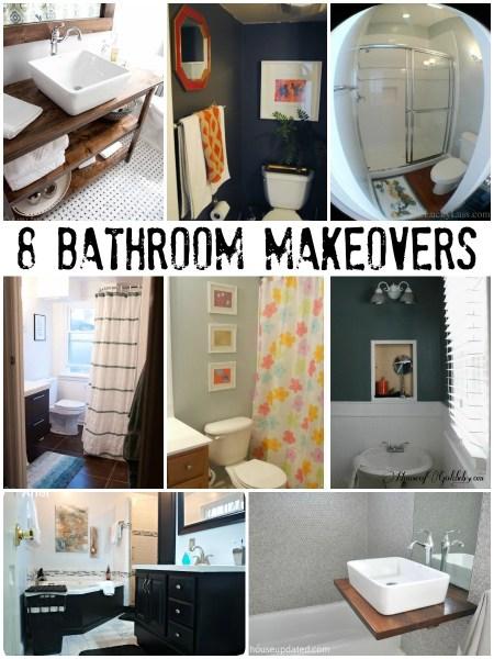 inspiring bathroom makeovers
