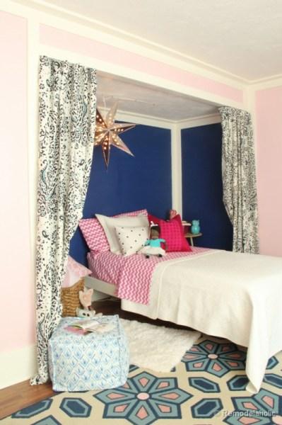 little-girls-bed-nook-remodelaholic