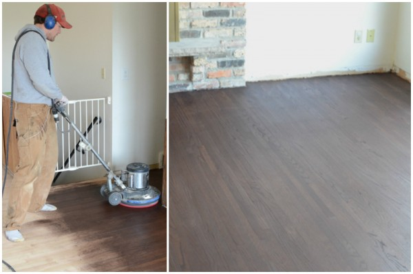 refinished hardwood floor with unique matte finish how-to, Ramblings from the Burbs on Remodelaholic
