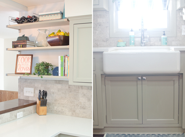 remodeled kitchen after, Ramblings from the Burbs on Remodelaholic