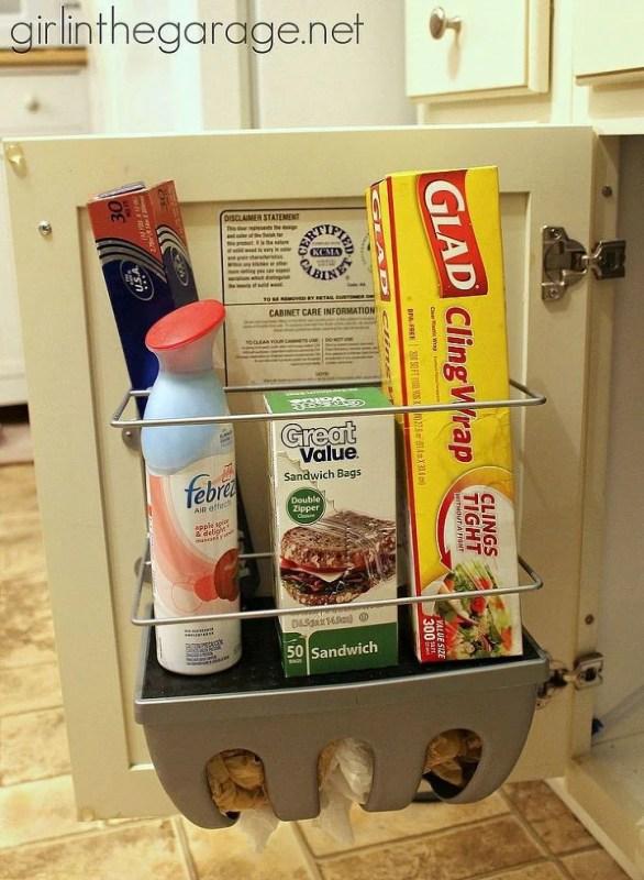 Find hidden storage in the fridge