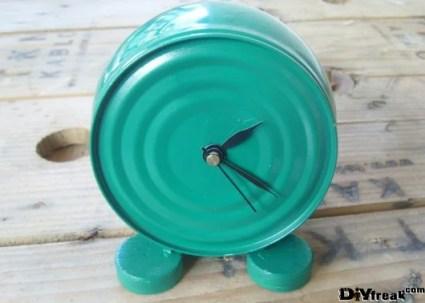 tin can clock