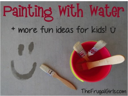 tipsaholic-painting-with-water-the-frugal-girls on Remodelaholic