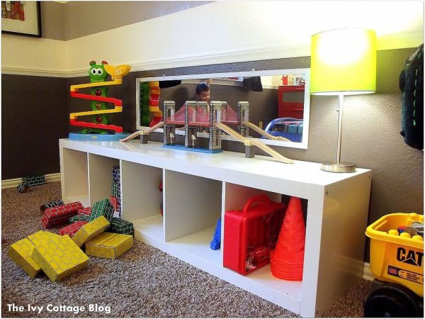 Toddler Room and Toy Storage