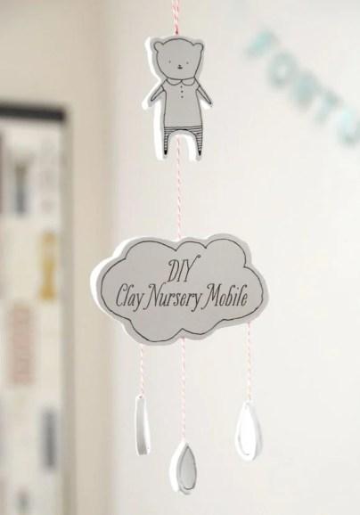 Clay Nursery Mobile