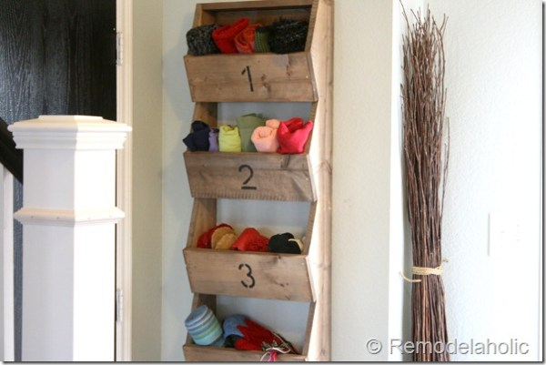 rusti wall storage bins