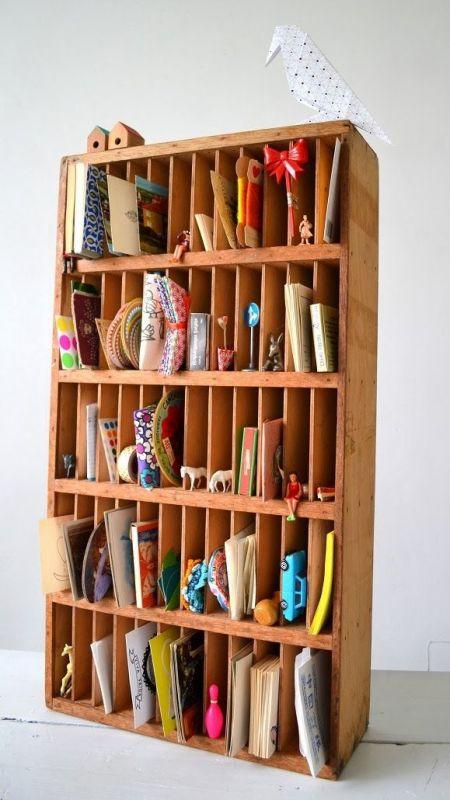 Best kid's bookcase-post office