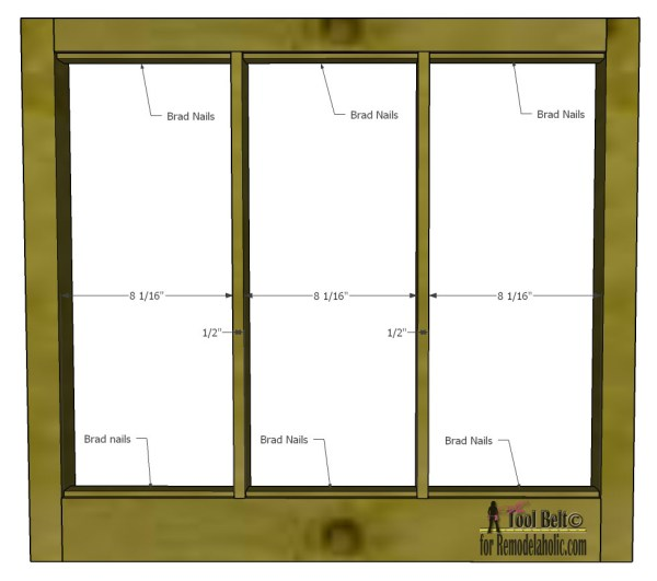 Free plans and tutorial to build a DIY 6 pane window frame like those old vintage windows. #Remodelaholic #window #DIY