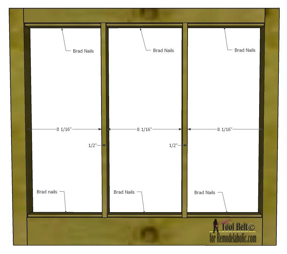Remodelaholic   Build It: 6-Pane Decorative Window