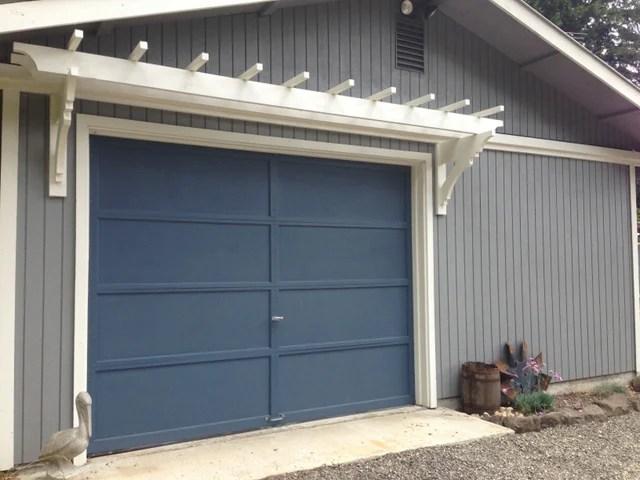 DIY a Garage Trellis for improved curb appeal, Remodelaholic