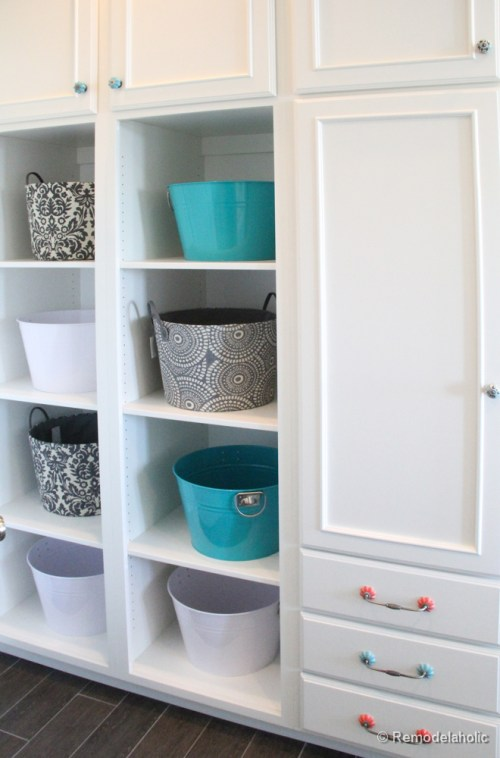Double Laundry and Crafting Room Fabulous Laundry room design ideas from @Remodelaholic