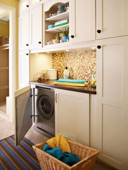 Hidden built in Laundry Space