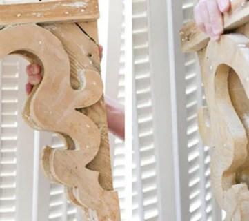 DIY Vintage-Inspired Corbel Building Plan & Pattern
