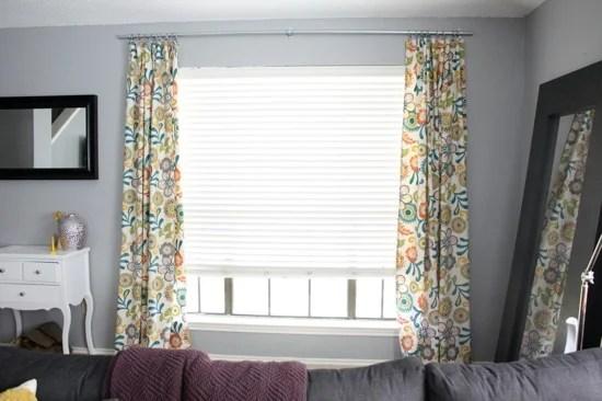 industrial conduit curtain rod via Remodelaholic