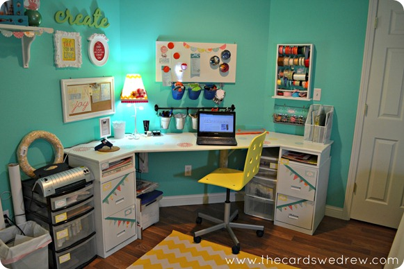organized craft room 3